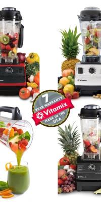 Vitamix TNC 5200 - 4 squares 3 colors