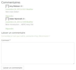LCeL-commentaires